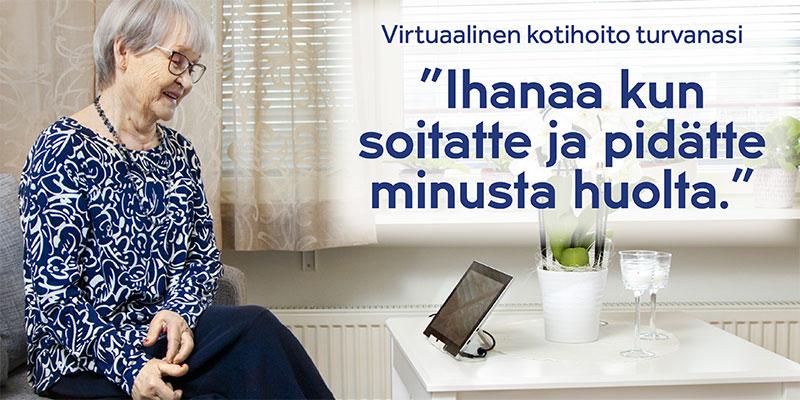 Virtuaalinen kotihoito